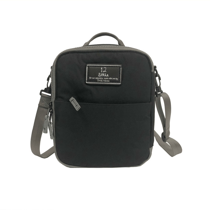 Black Adventure Lunch Bag - Project Nursery