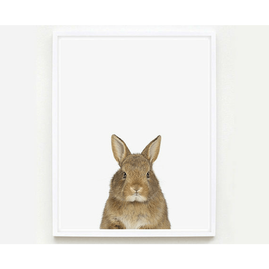 Baby Bunny Little Darling Print - Project Nursery