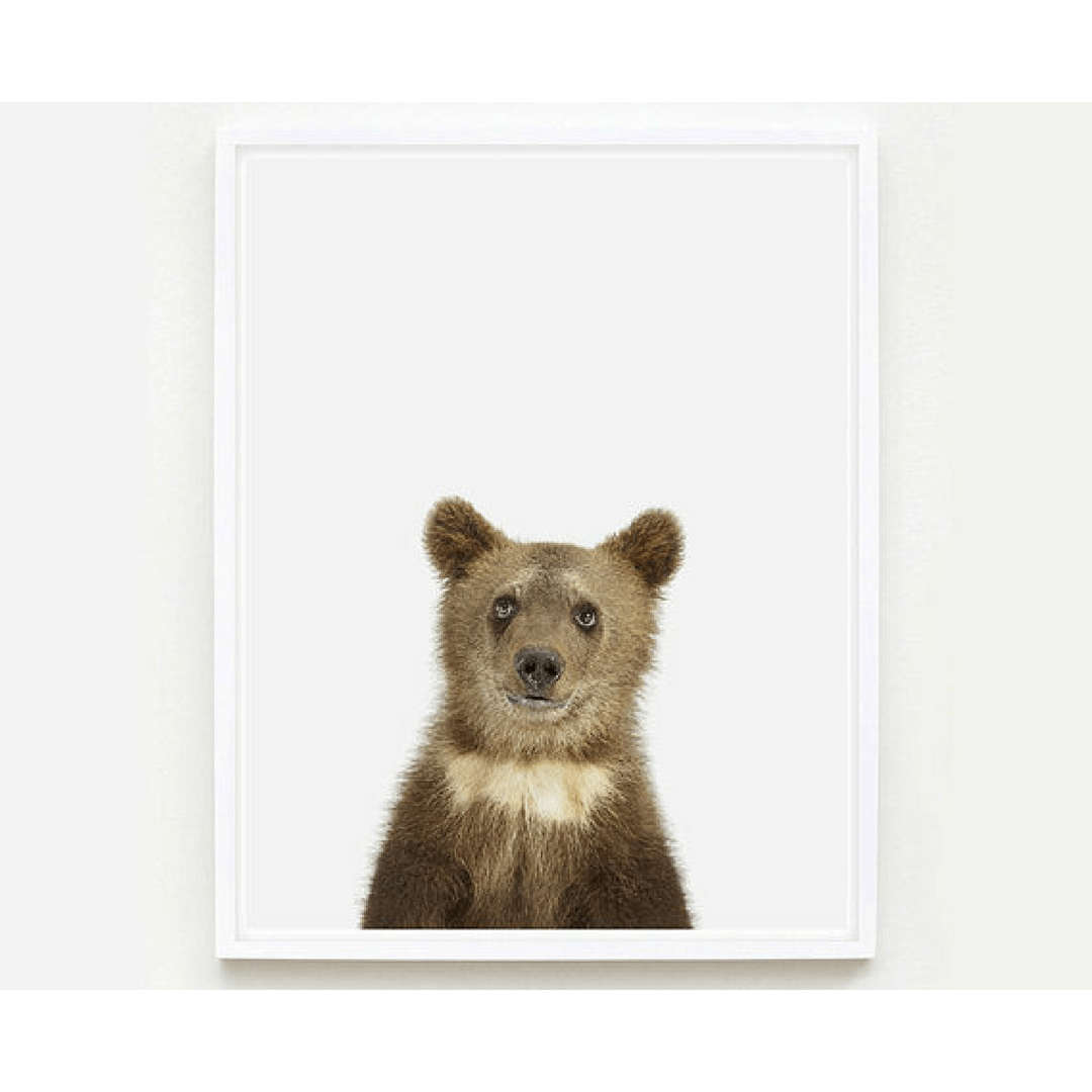 Bear Cub Little Darling Print - Project Nursery