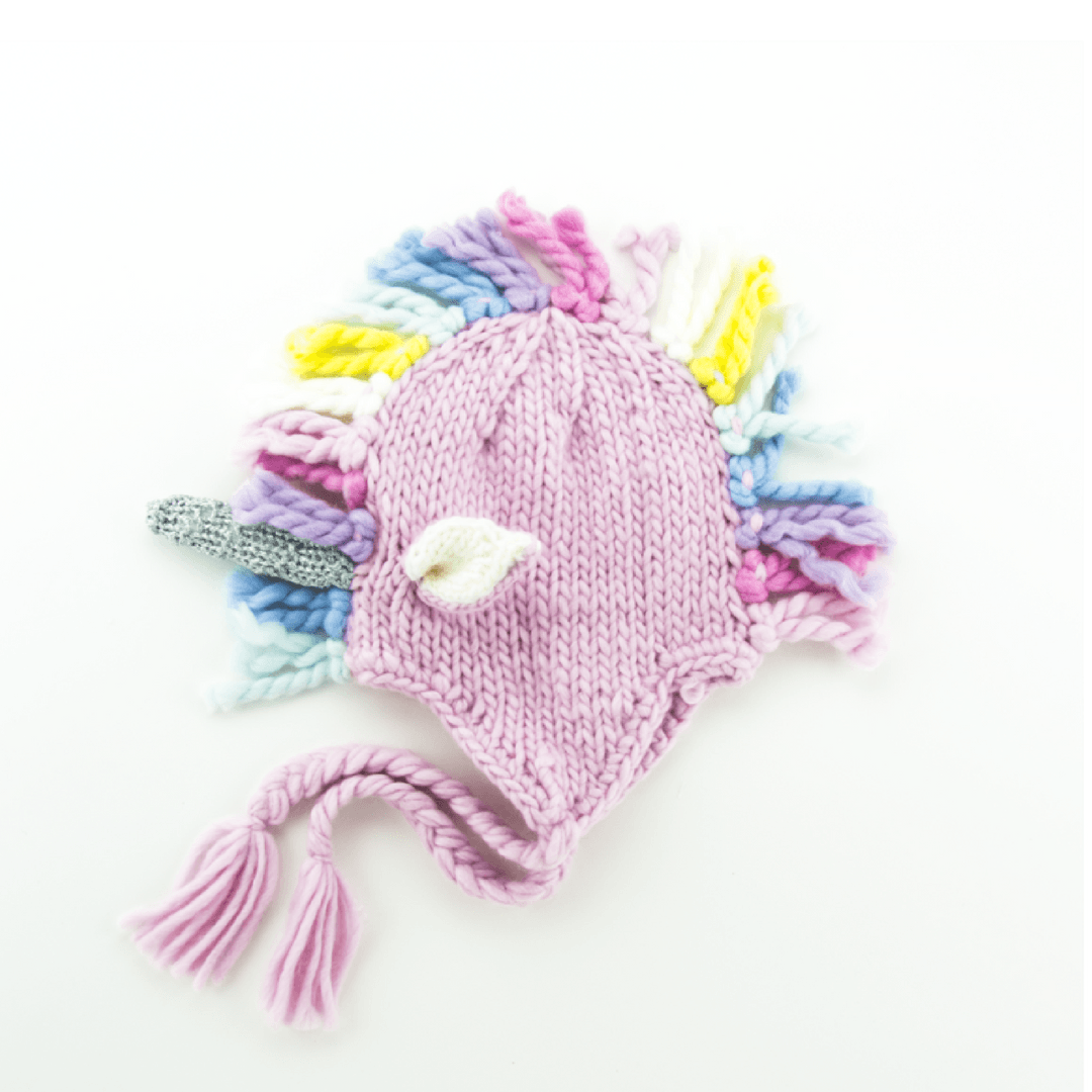 Unicorn Knit Hat - Multi