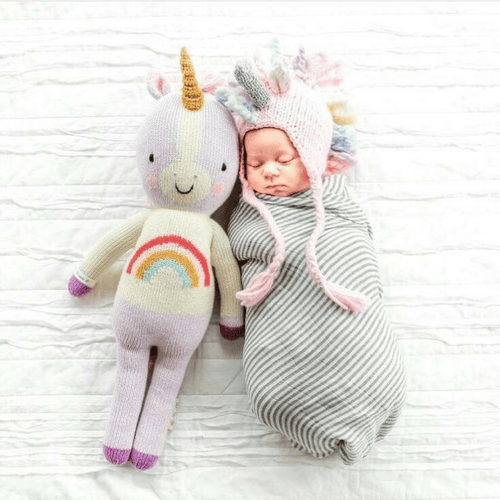 Unicorn Knit Hat - Project Nursery