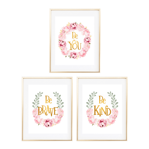 Boho Floral Nursery Print Collection - Project Nursery