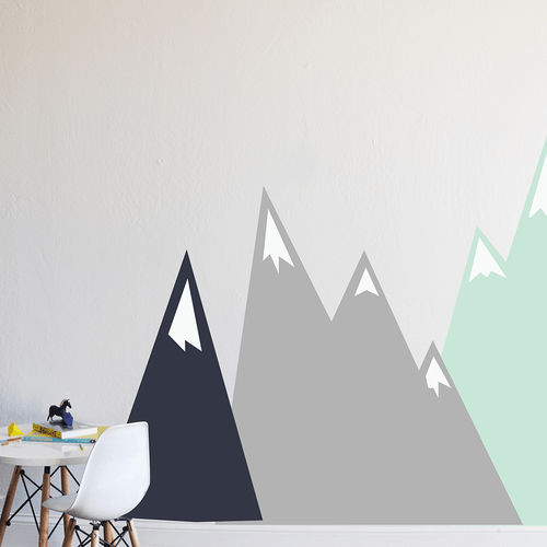 Moving Mountains Wall Decal - Project Nursery