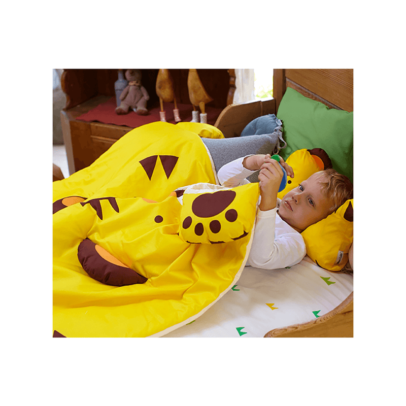 Tom Tiger 3D Toddler Blanket - Project Nursery