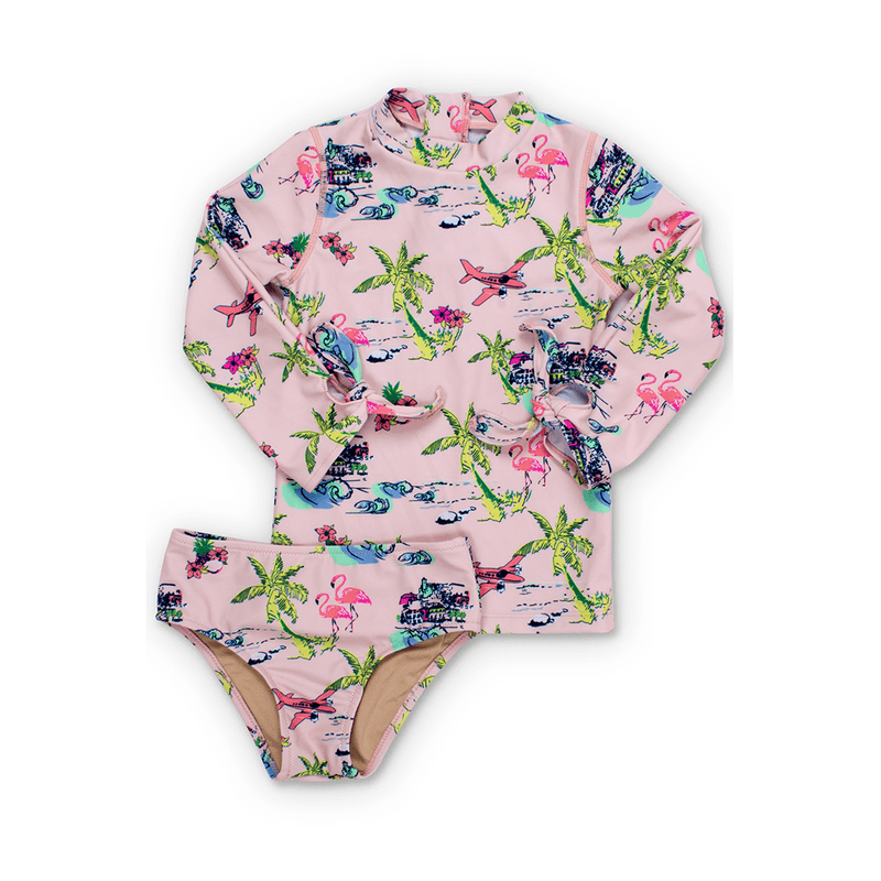 Tiki Rashguard Swimsuit Set - Project Nursery