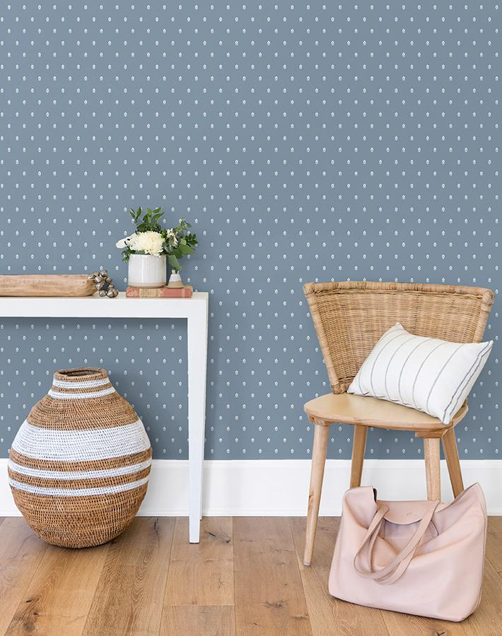 Tiny Block Print Wallpaper - Project Nursery