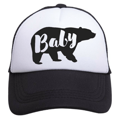 Baby Bear Trucker Hat - Project Nursery