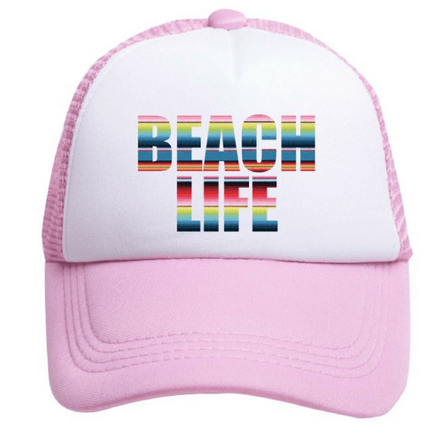 Beach Life Trucker Hat - Project Nursery