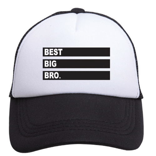 Best Big Bro Trucker Hat - Project Nursery