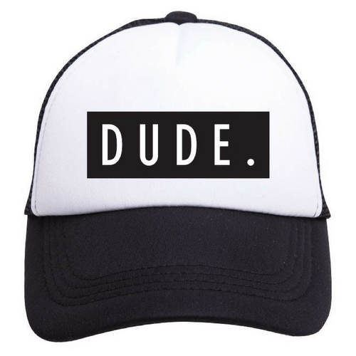 Dude Trucker Hat - Project Nursery