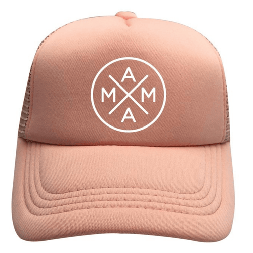 Mama Trucker Hat in Blush - Project Nursery