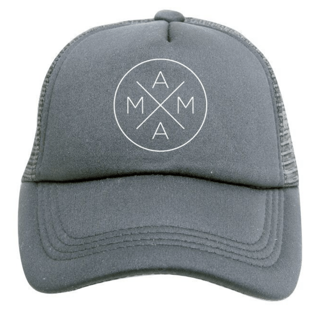 Mama Trucker Hat in Grey – Project Nursery 5e00bd9c2b1a