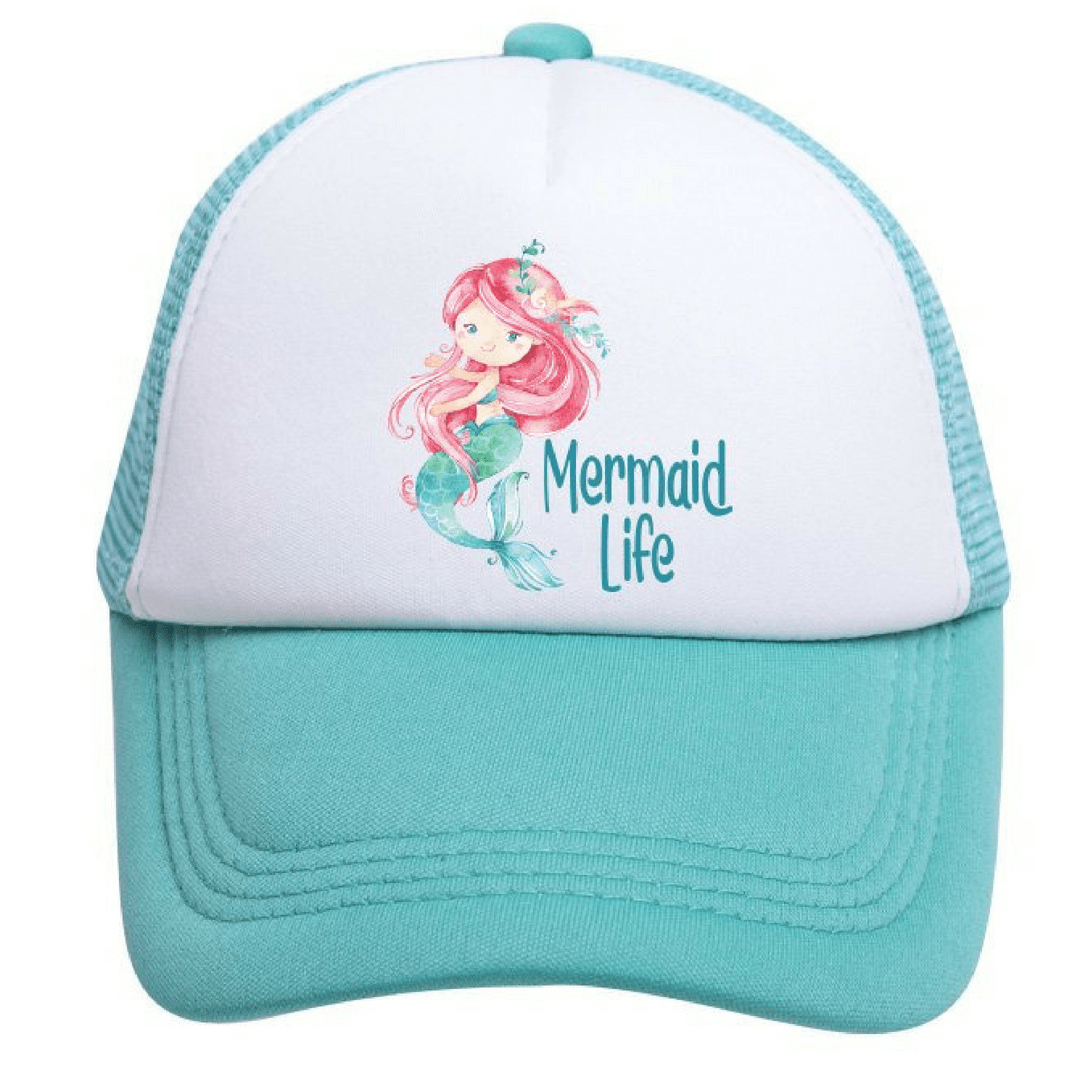 Mermaid Life Trucker Hat - Project Nursery