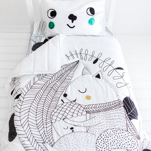 Squirrel Toddler Comforter - Project Nursery