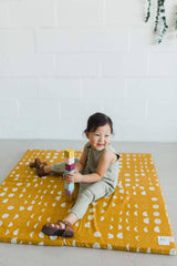 Lunar Gold Padded Playmat - Project Nursery