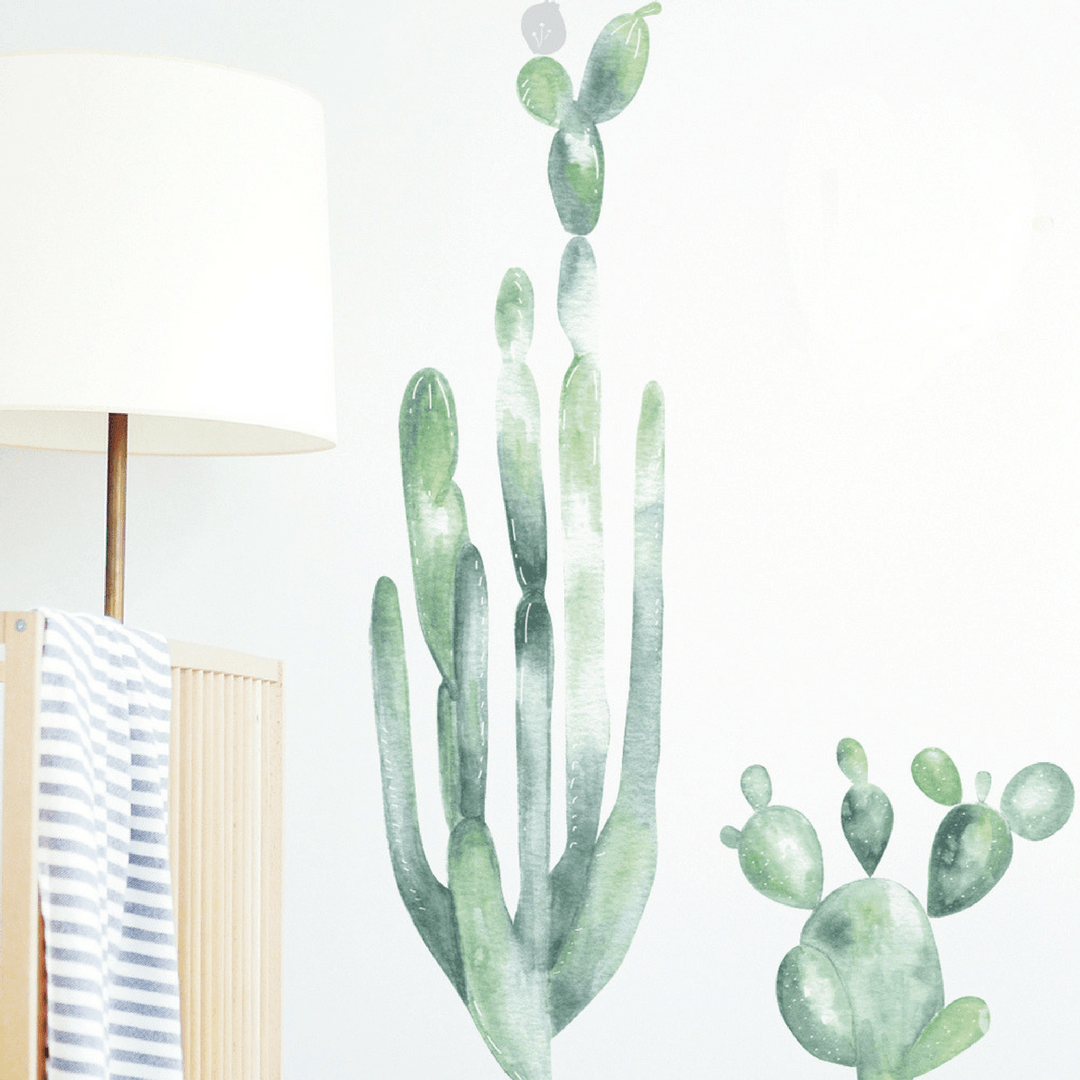 Large Cactus Wall Decal - Project Nursery