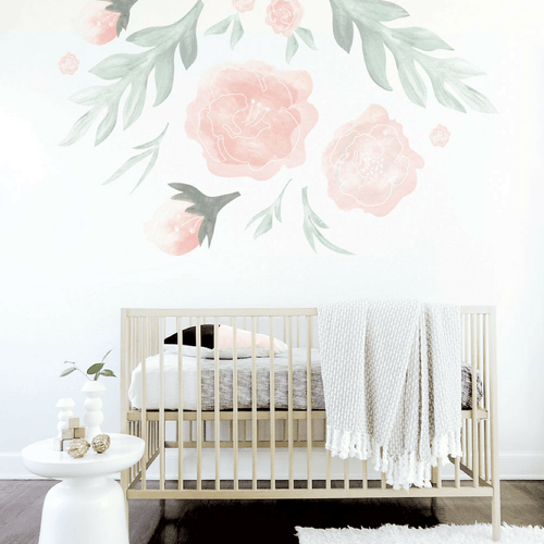 Large Flower Wall Decal - Project Nursery