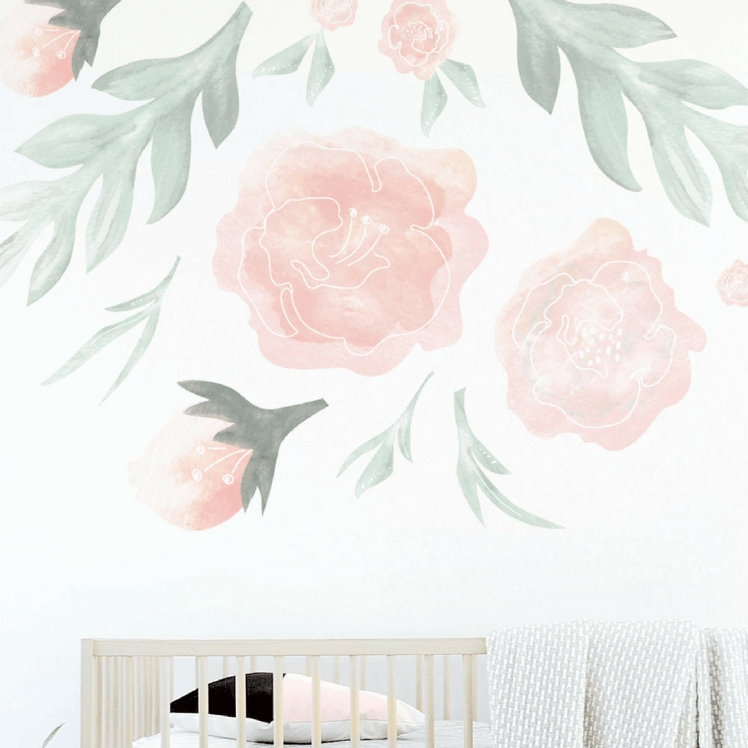 Large Flower Wall Decal   Project Nursery