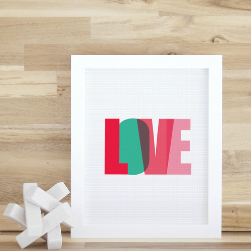 Love Letters Wall Art - Project Nursery