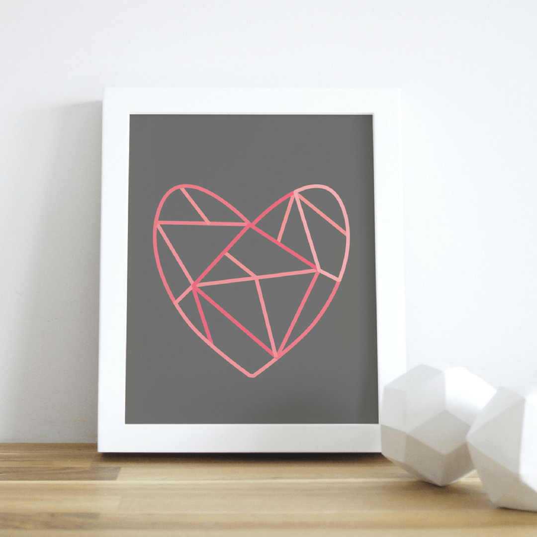 Puzzled Heart Wall Art - Project Nursery