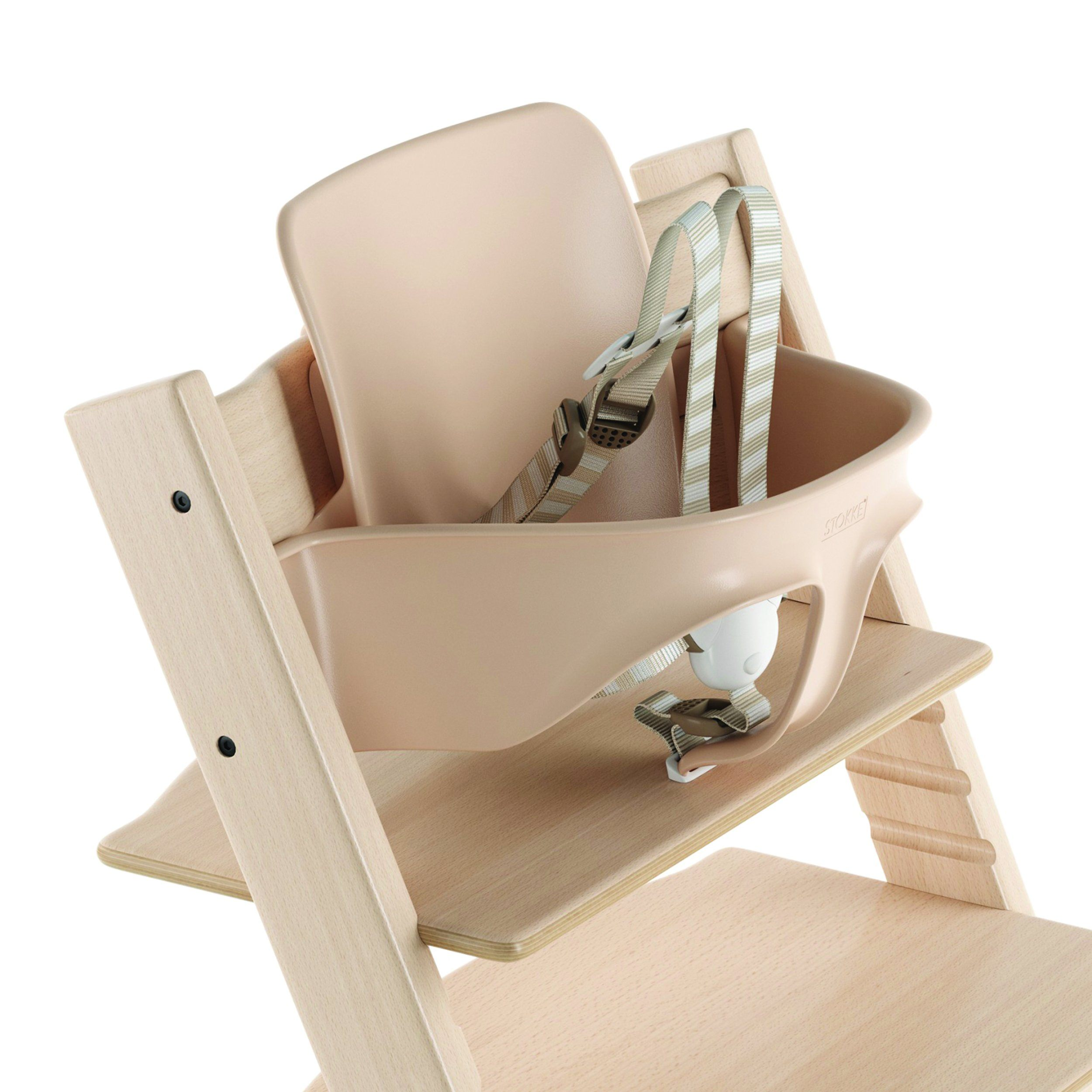 Tripp Trapp® High Chair Complete - Natural/Timeless Grey - Project Nursery