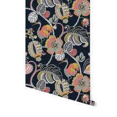 Tropical Fete Really Rouge Wallpaper - Project Nursery