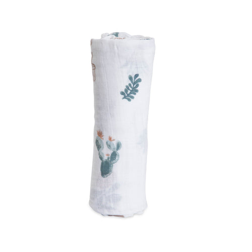 Prickle Pots Swaddle Blanket - Project Nursery