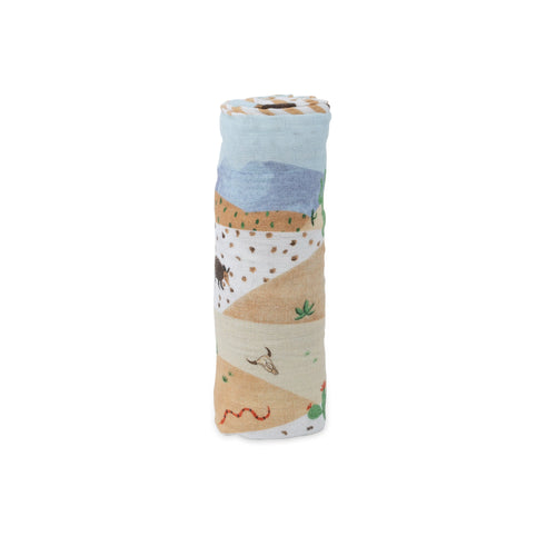 Desert Hills Swaddle Blanket - Project Nursery