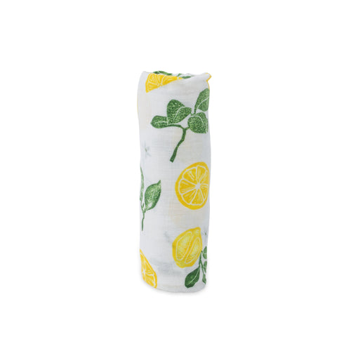 Lemon Drop Swaddle Blanket - Project Nursery