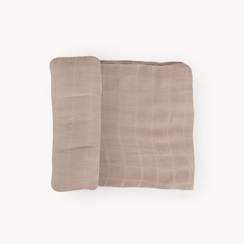 Oatmeal Deluxe Muslin Swaddle Blanket - Project Nursery