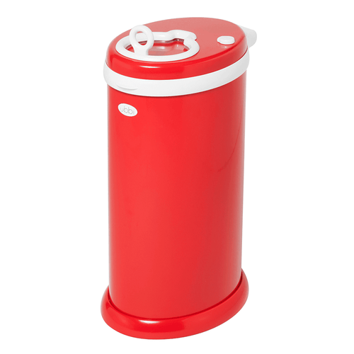 Ubbi Diaper Pail - Red - Project Nursery