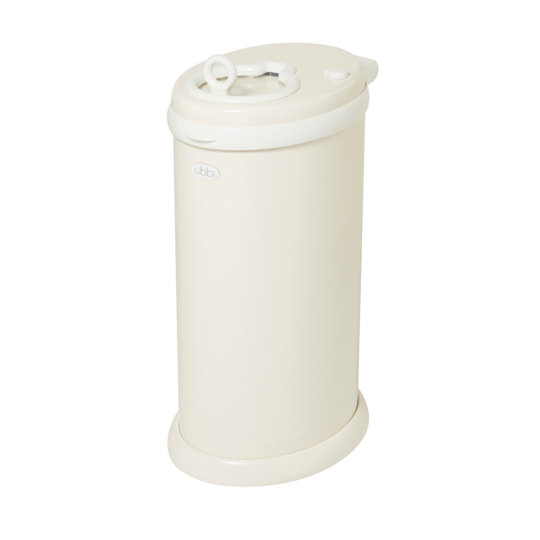 Ubbi Diaper Pail in Ivory - Project Nursery