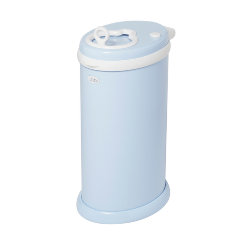 Ubbi Diaper Pail in Light Blue - Project Nursery