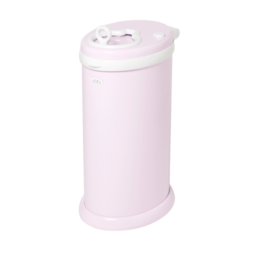 Ubbi Diaper Pail in Light Pink - Project Nursery