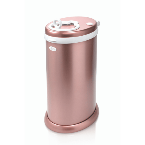 Ubbi Diaper Pail in Rose Gold - Project Nursery