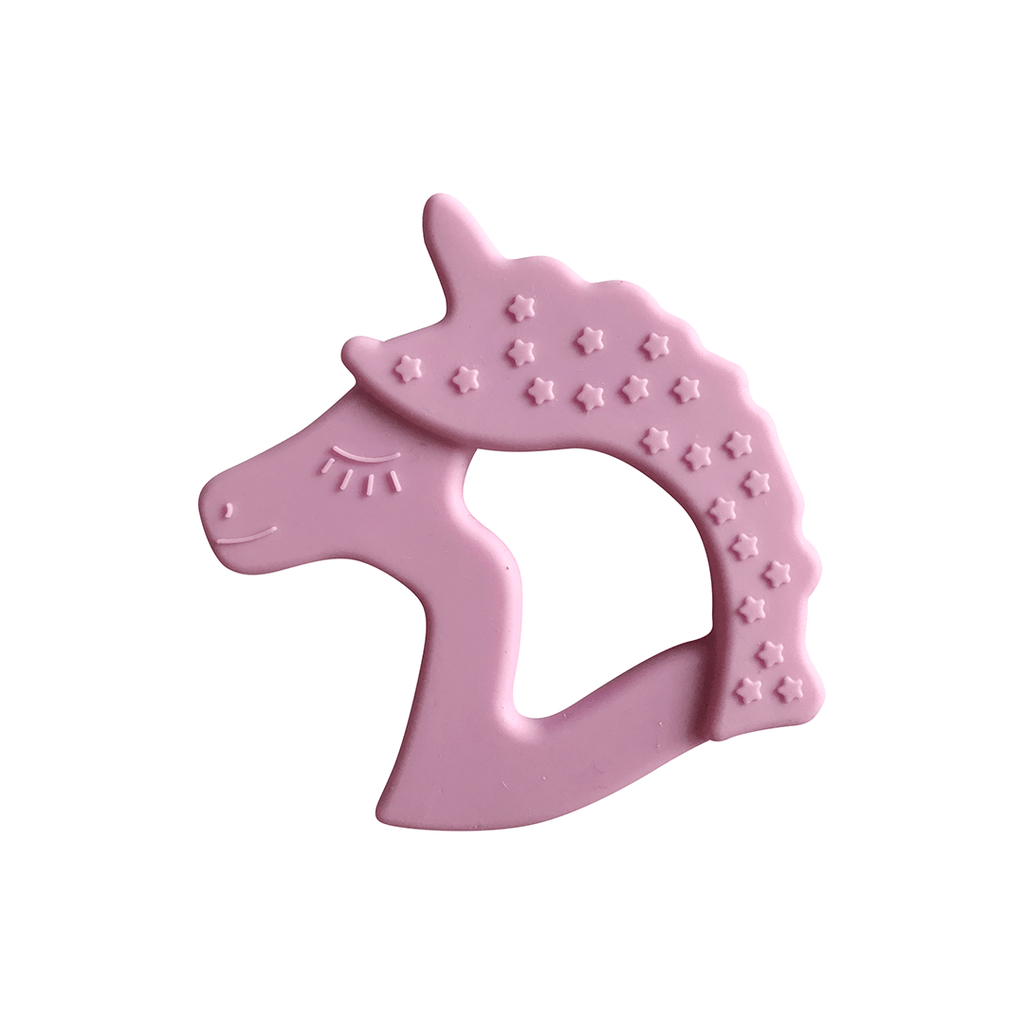 Unicorn Teether Lilac - The Project Nursery Shop - 2