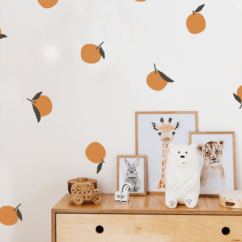Orange You Glad Wall Decal Set - Project Nursery