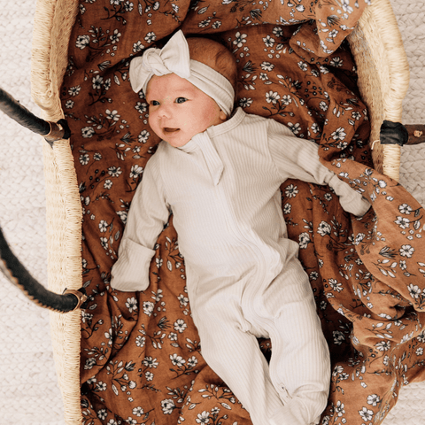 Tradewinds Muslin Swaddle Blanket