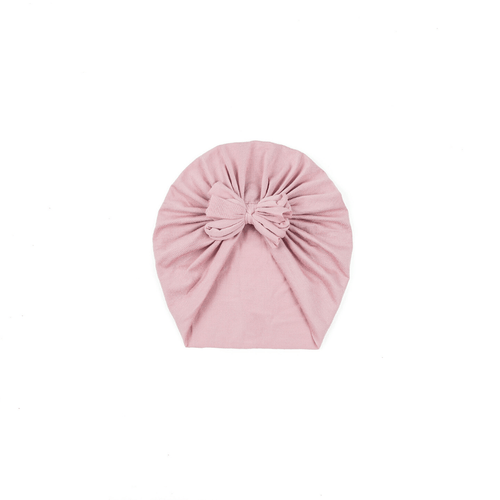 Dusty Pink Bow Turban - Project Nursery