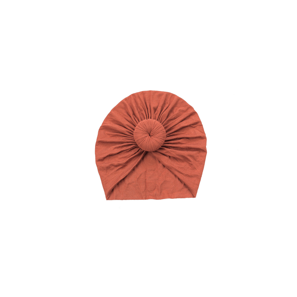 Rust Knot Twist Front Hat - Project Nursery