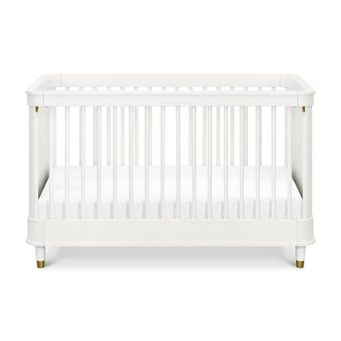 Liberty 3-in-1 Convertible Spindle Crib with Toddler Bed Conversion Kit