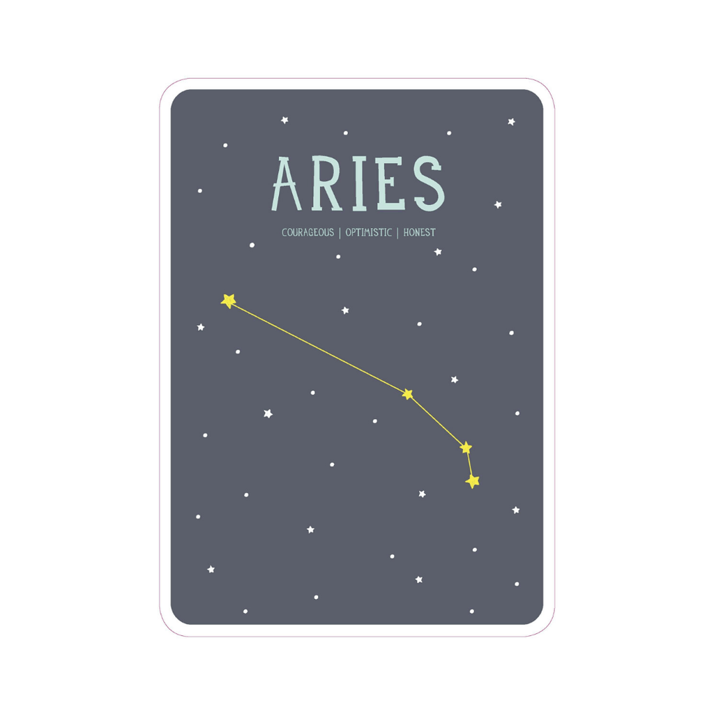 Zodiac Poster Cards - Project Nursery