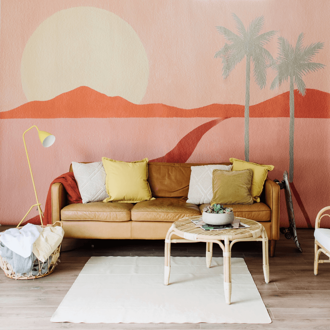The Cali Wallpaper Mural - Project Nursery