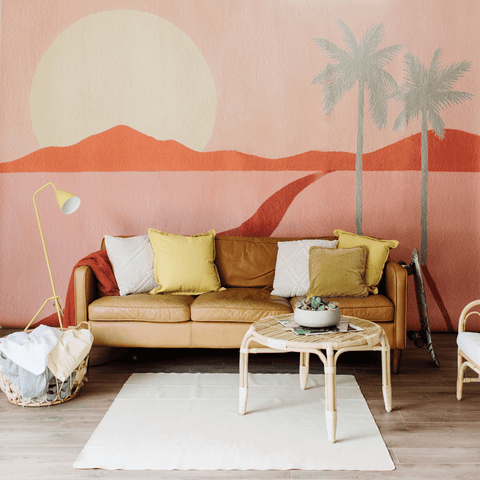 Roke Ombre Wallpaper Mural