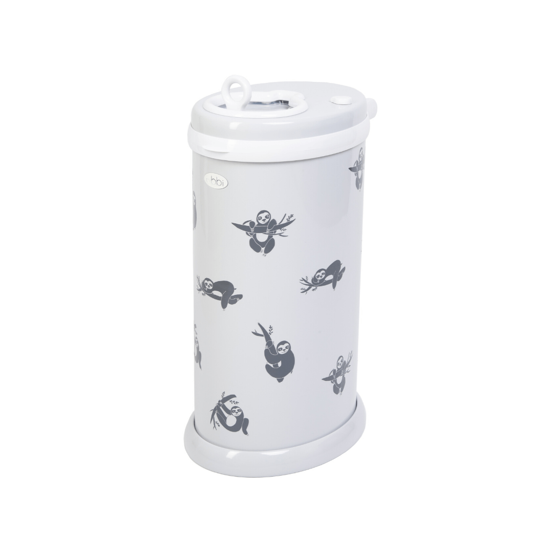 PN x Ubbi Diaper Pail Decals - Sloth - Project Nursery