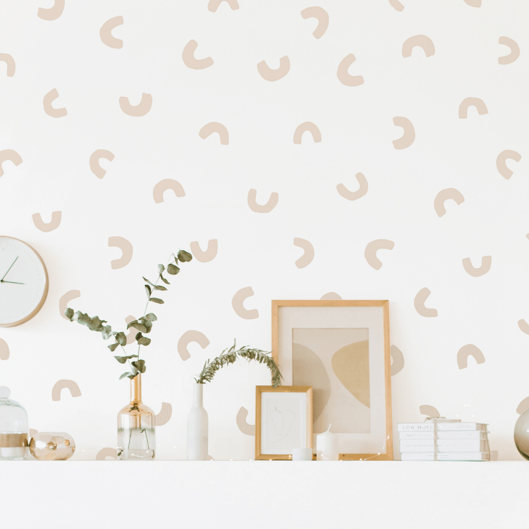Abstract U-Shaped Wall Decals - Project Nursery