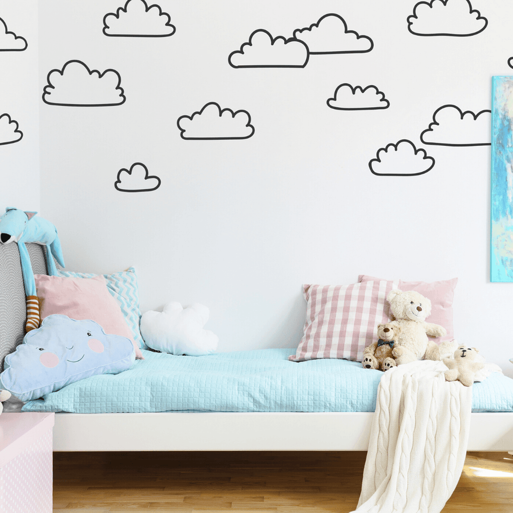 Sketched Cloud Wall Decals - Project Nursery