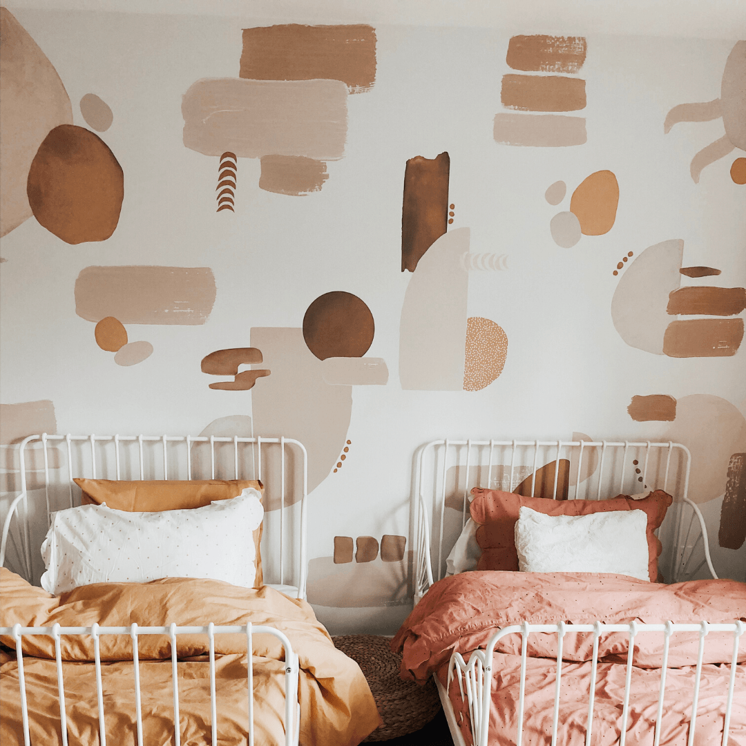 Canyon Colors Decals Warm Neutral Abstract Wall Decals Project Nursery