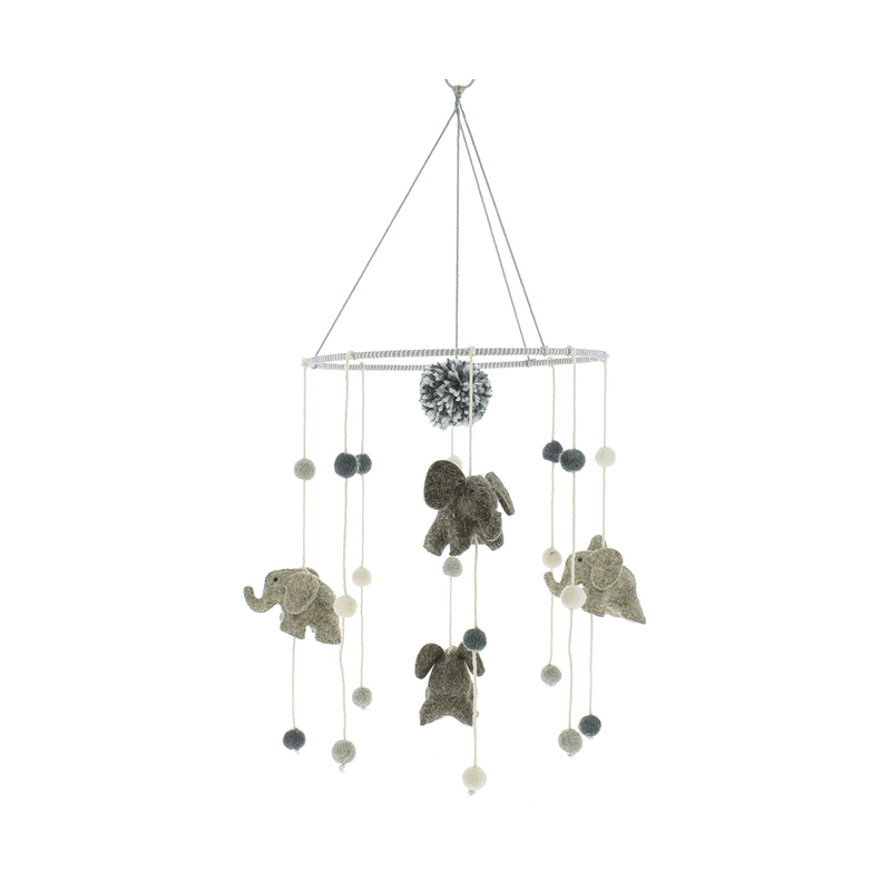 Mini Elephant Mobile - Project Nursery