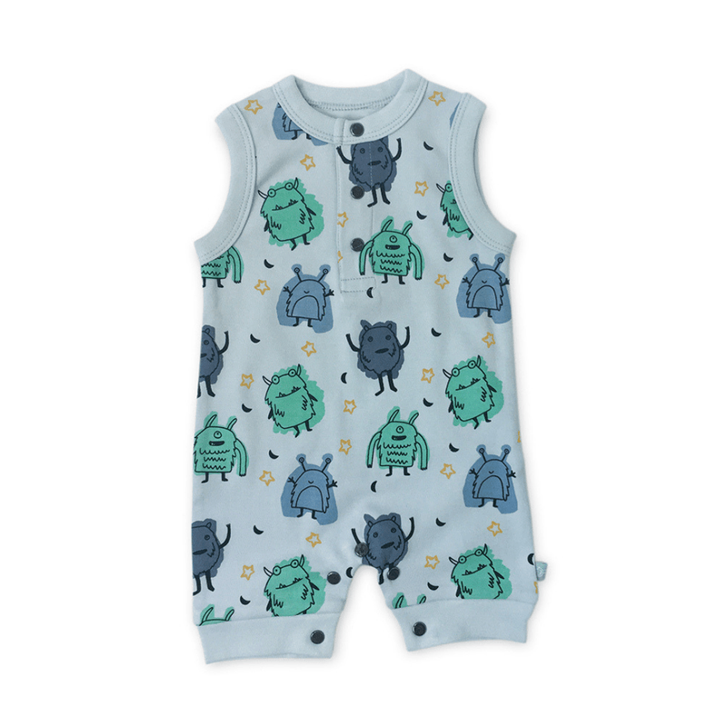 Monsters Tank Romper - Project Nursery